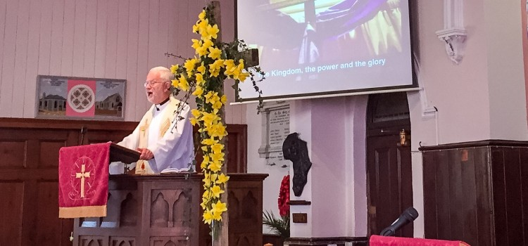 Easter Sermon: The Kingdom, the power and the glory